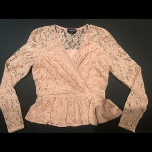 Bebe, Lace Top